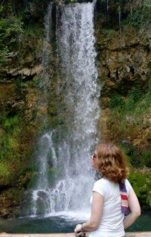 Vodopad Veliki buk (Lisine)