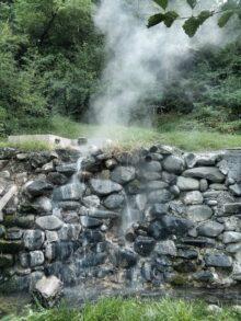 izbijanje vrele vode na povrsinu