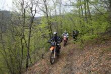 Iznenadni susret planinara i motociklista