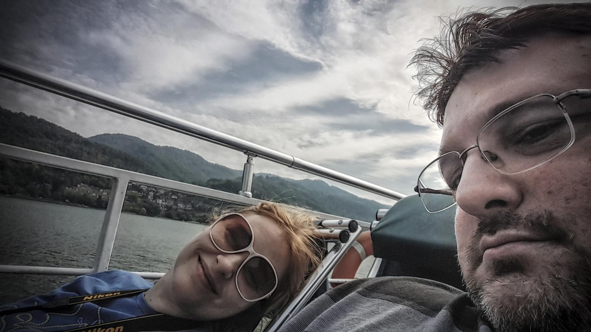 Uživanje na brodu