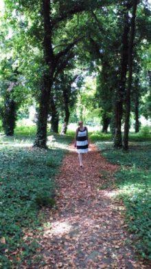 Šetnja parkom dvorca Dundjerski
