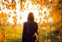 Jesenji zalazak sunca
