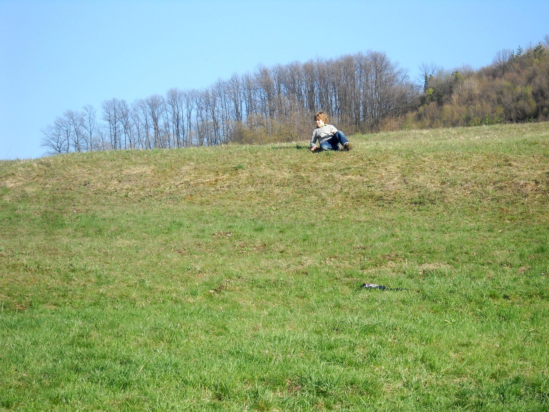 Prevrtanje po travi