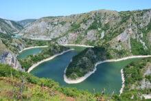 Reka Uvac - Uvac river